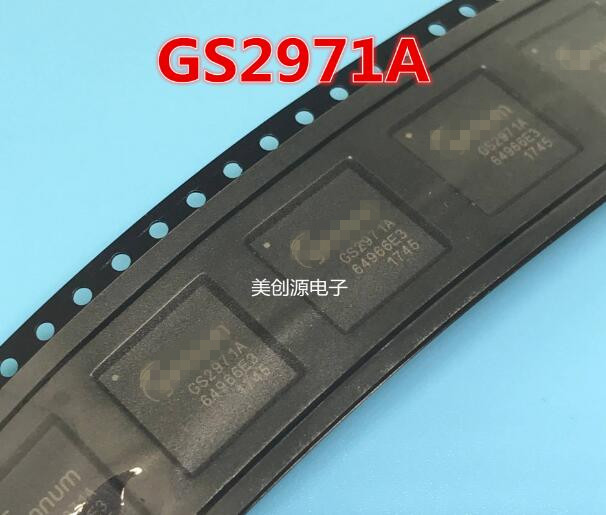 2PCS LOT GS2971A IBE3 GS2971A GS2971 BGA100 NEW