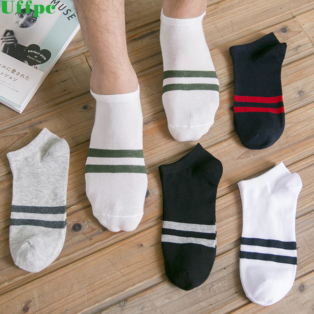 5pairs/lot Bamboo Socks Men Casual Mixed Colors Fashion Socks Men Brand All-Match Invisible Socks For Men