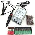 White Electric Nail Art Drill Machine 20000RPM Equipment Manicure Kit Tool Nail File Bit Sanding Band Accessory 220v Eu plug