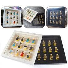 Dubbi строительные блоки minifigs показывая фоторамка без minifigs игрушки ninjago образования Совместимо с LegoINGl для подарка