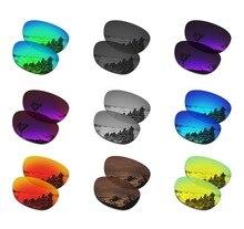 Lentes de substituição polarizadas smartvlt para óculos de sol oakley stringer várias opções
