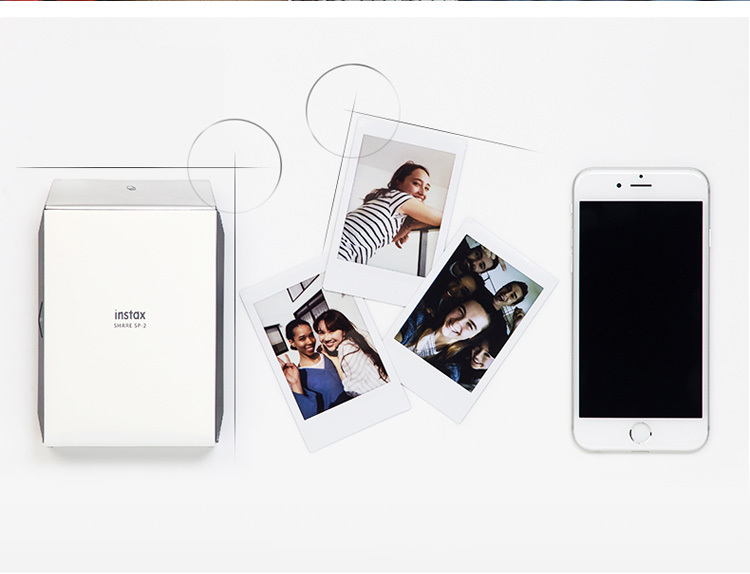 Fujifilm Instax Smartphone Printer SP-2 Silver/Gold 37