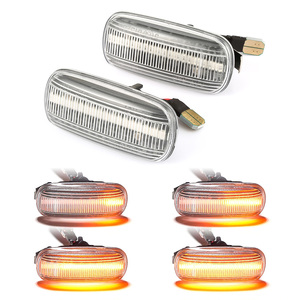 Image 5 - 2 pieces Led Dynamic Side Marker Light Turn Signal Light Sequential Blinker Light For Audi A3 S3 8P A4 B6 B8 B7 S4 RS4 A6 S6 C5
