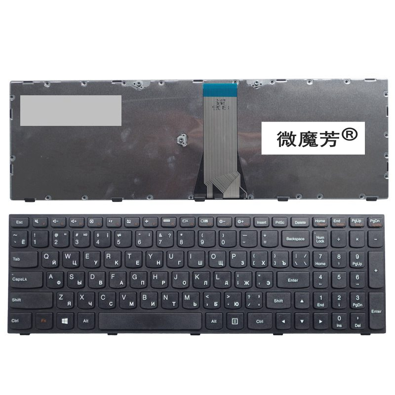 Russian Laptop Keyboard for Lenovo G50 Z50 B50-50 B50-30 G50-70A G50-70H RU laptop keyboard gzeele ru laptop keyboard for lenovo g50 70 g50 45 b50 g50 g50 70at g50 30 z50 g50 z50 b50 g50 70 b70 80 ru layout russian black