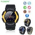 Deporte militar ip67 a prueba de agua relojes de pulsera bluetooth reloj inteligente para apple iphone teléfono mtk2502a para ios android smartwatchs