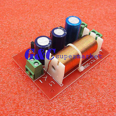 Ajustable Treble/Bass Frekuensi Divider 2 Way Speaker Audio Crossover Filter
