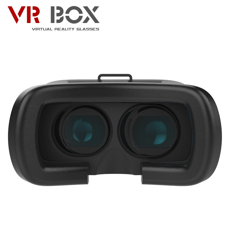 50pcs/lot Factory Supply 3D Head Mount VR Box 1 nd Generation Virtual Reality vr glasses & Bluetooth Remote Control 5