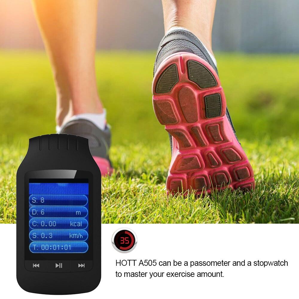 Orijinal HOTT 1037 Bluetooth mp3 çalar 8 GB Klip MP3 Müzik Çalar - Taşınabilir Ses ve Görüntü - Fotoğraf 5