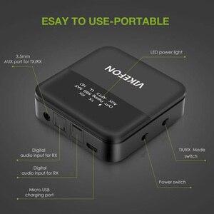 Image 4 - Bluetooth 5.0 verici alıcı kablosuz ses aptX HD düşük gecikme 3.5mm Jack/Spdif adaptörü TV kulaklıklar için araba PC