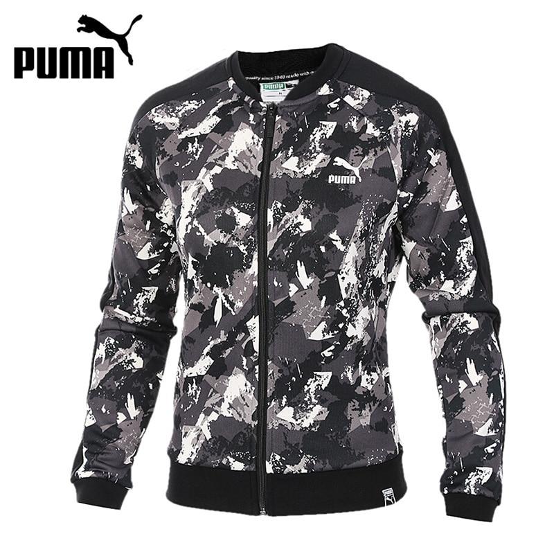 Original New Arrival 2017 PUMA AOP Archive T7 Track Jkt Women's jacket Sportswear