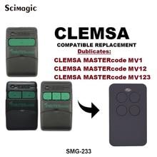 Универсальный пульт дистанционного управления Clemsa Mastercode MV1 Универсальный дубликат дистанционного Управление Замена Fob 433 МГц 280-868 МГц, для гаражной двери