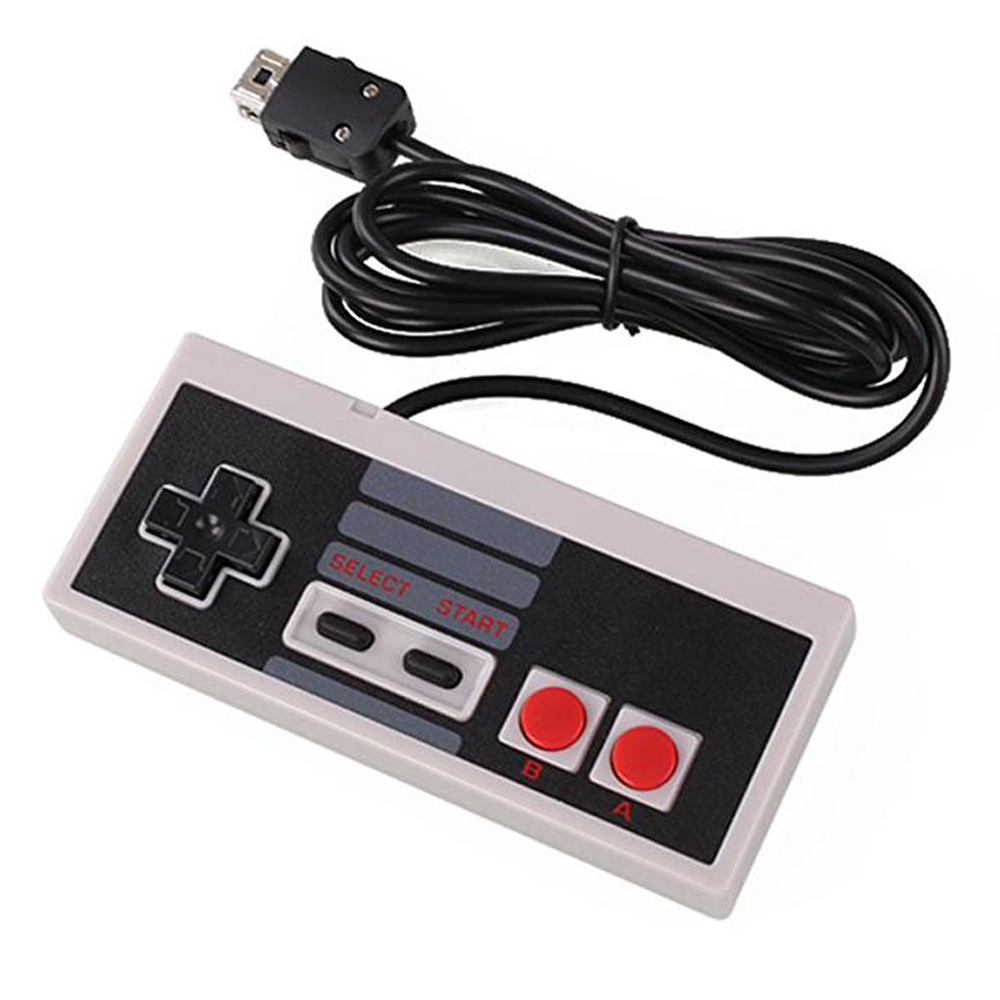 Classic Mini Edition Wired Gaming Controller Gamepad for NES