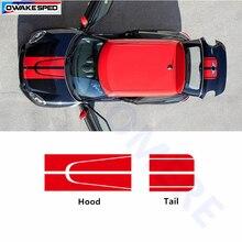 Капот автомобиля наклейки на заднее стекло авто кузова боковой двери спортивные полоски наклейки для колес внешние аксессуары для BMW MINI Cooper S F55 F56 R55 R56 R60