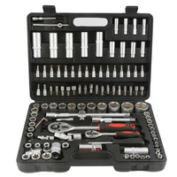 OUTAD 108PCs/Set Hand Tools for Car Repair Ratchet Spanner Wrench Socket Set Professional Repair Tool Kits Hand Tool Set