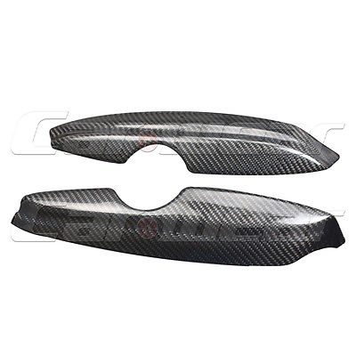 Carbon Fiber Front Headlight Cover Eyelid Eyebrow for Volkswagen VW Golf 4 MK4 IV 1997-2004