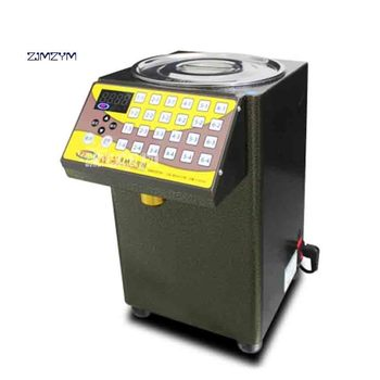 New YF-9EN Commercial Fructose Quantitative Machine 24 Grid Automatic Fructose Dispenser for Coffee/Bubble Tea 220V 300W 8500cc