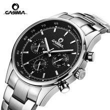 Marque de luxe montres hommes D'affaires classique robe quartz wirst montre mens erkek kol saati étanche # CASIMA 5114