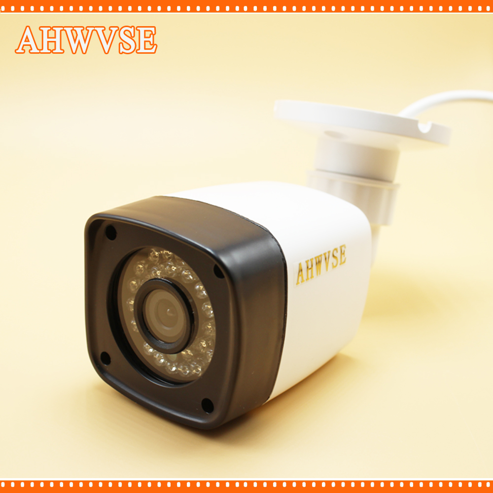 AHWVSE 720P 1.0MP AHD CCTV Camera Outdoor Waterproof HD Color Image With IRCUT Filter Night Vision Surveillance Bullet Security wistino cctv camera metal housing outdoor use waterproof bullet casing for ip camera hot sale white color cover case
