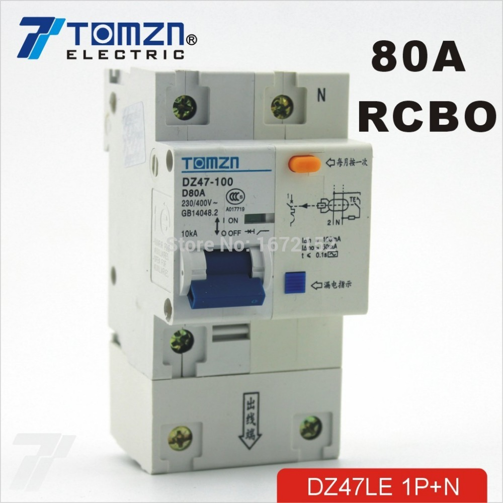 DZ47LE 1P+N 32A 230V~ 50HZ//60HZ Residual current Circuit breaker RCBO