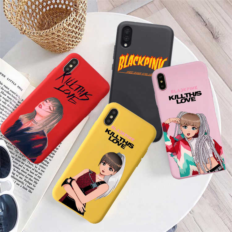 Blackpink kill this love Soft Silicone Phone Case For huawei p30 pro p30 lite p20 pro p10 mate 20 p10 lite honor 9 lite honor 10