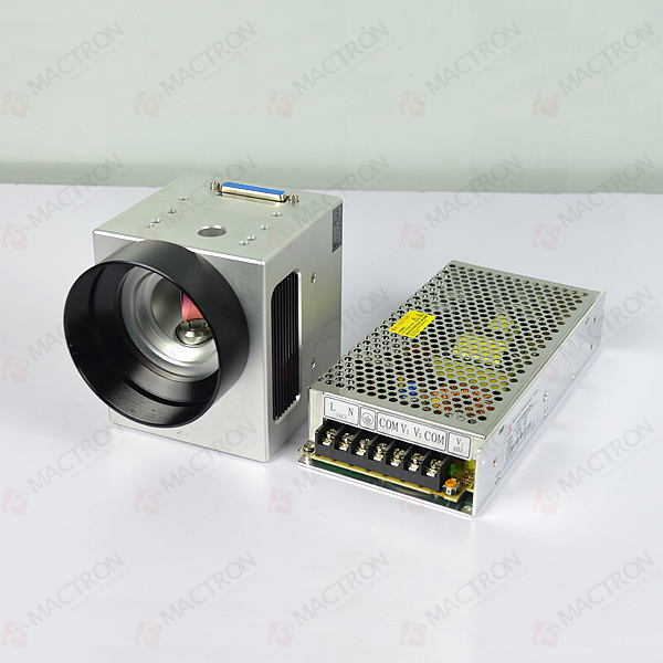 US $560 5 5% OFF|High Speed Laser Scanning Galvo Head 10MM Input Aperture  With DC Power Supply For Fiber Laser Marking Machine-in Woodworking