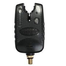 Fishing Bite Alarm Finder Fishing Bite Indicator with 8 LED for Carp Fishing rods pole Tackle Box Accessory tool