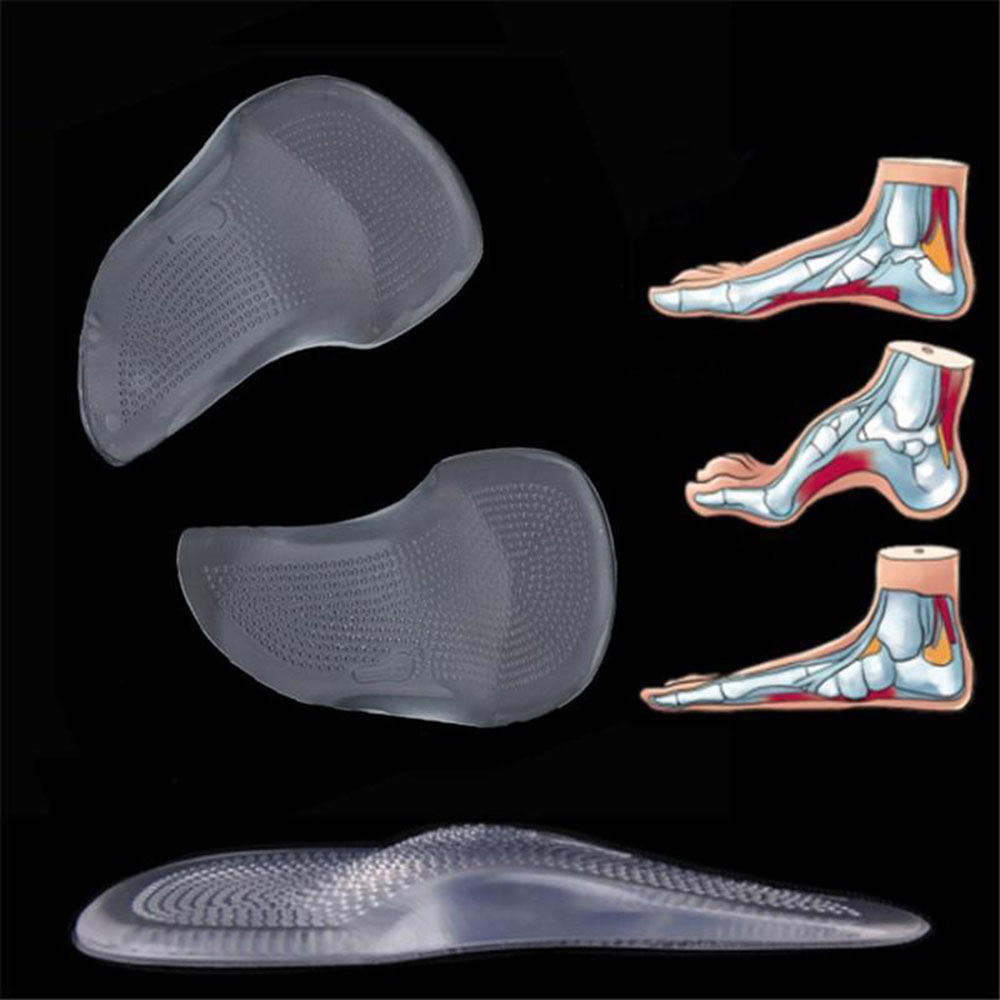 Orthopedic Arch Support Shoe Insole Gel Pad Flat Feet Corrector Heel Orthotic