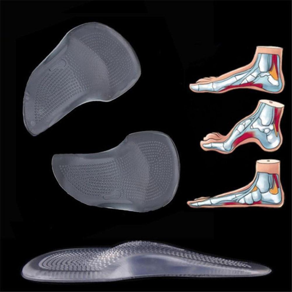Orthopedic Arch Support Shoe Insole Gel Pad Flat Feet Corrector Heel Orthotic