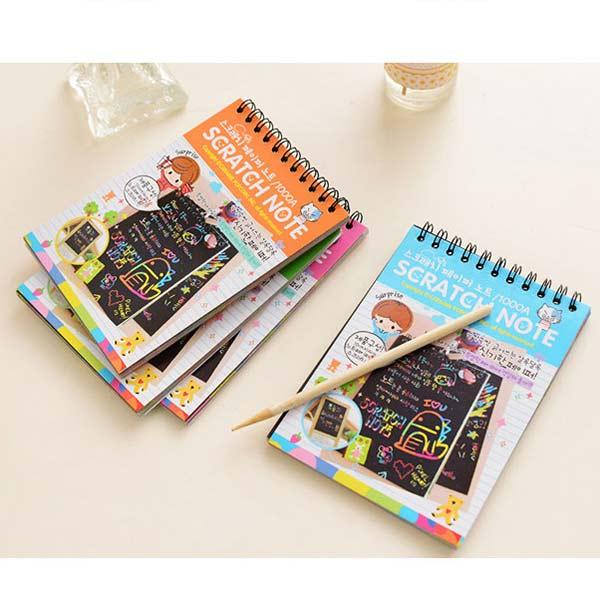 Kids-Stationery-Notebook-Scratch-Journal-Wooden-Stylus-Scratch-Paper-Note-Drawing-Educational-Toys-Random-Color-Z322-4
