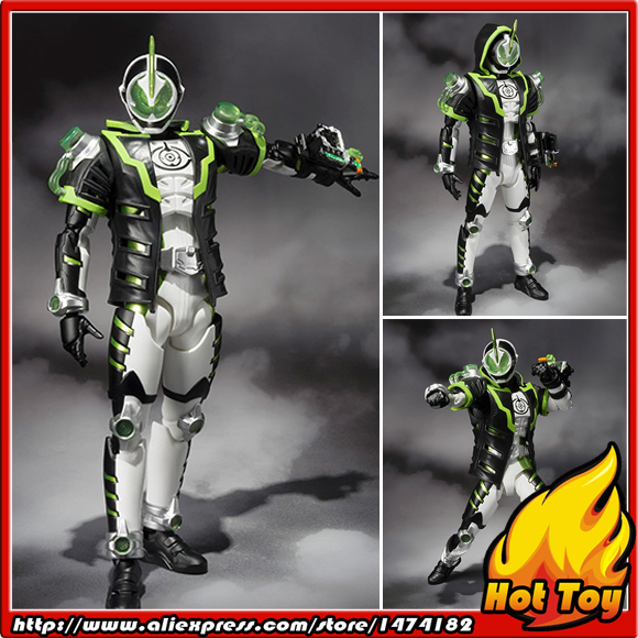 100% Original BANDAI Tamashii Nations S.H.Figuarts (SHF) Exclusive Action Figure - Kamen Rider Necrom from Kamen Rider Ghost