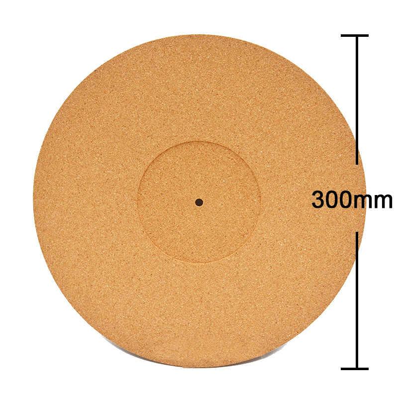 LEORY Mistral Cork LP виниловая вертушка коврик для скольжения аудиофил 3 мм антистатические слипоны антистатические 300 мм