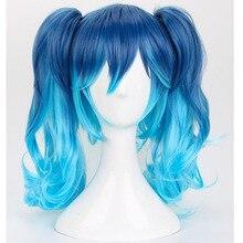 Peluca de Cosplay de Kagerou Project MekakuCity Actors Enomoto Takane Ene + gorro para peluca