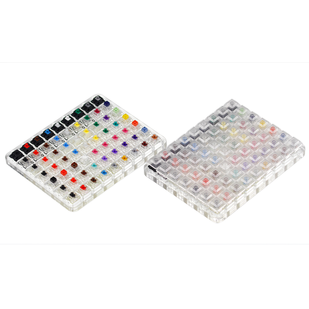 KBDfans Mechanical keyboard Super Swithes Tester  63 switches all in oneKeyboards