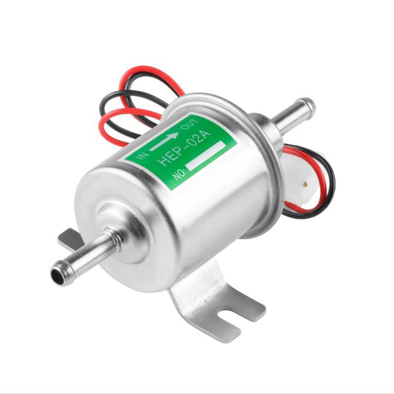 Купить с кэшбэком Electric Petrol Pump HEP-02A DC 12V 24V Fuel Pump Low Pressure Car Diesel Gas Pump For Motorcycle TOYOTA Ford Yanmar NISSAN ATV