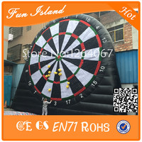 Free Shipping 8m height PVC Tarpaulin Giant Sticky Wall Type Inflatable Dart Game/Kids Inflatable Dartboard Games For Sale