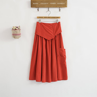 Special Impulse 5 New Winter Color Cotton Body Pendulum A Word Skirt Skirt 6211