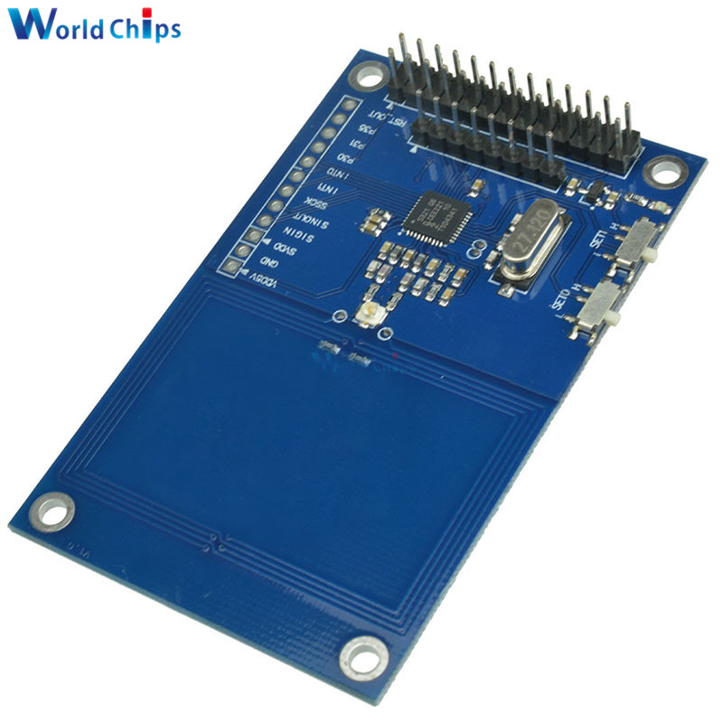 US $5 92 12% OFF|PN532 NFC Precise RFID IC Card Reader Module 13 56MHz for  Arduino Raspberry PI-in Integrated Circuits from Electronic Components &