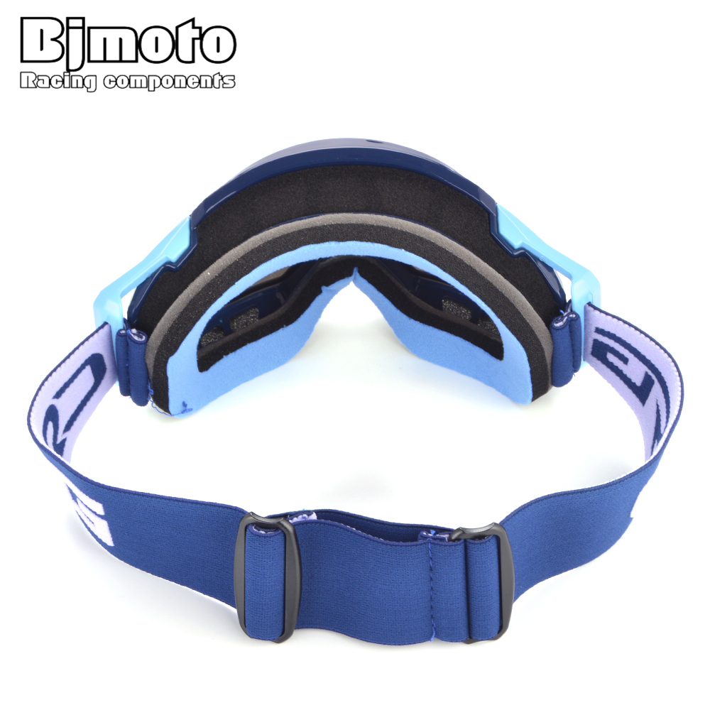 BJMOTO Motocross Goggles Sports Skate Ski Snow Goggles Snowboard Motorcycle Eye wear Bike Atv Racing Glasses Protection in Motorcycle Glasses from Automobiles Motorcycles