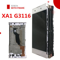 For Sony Xperia XA1 LCD Display Touch Screen Digitizer Assembly With Frame Replacement G3116 G3121 G3112