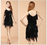 2016 Hoge kwaliteit sexy kwastje latin dans jurk fringe latin dans kostuums voor vrouwen op verkoop