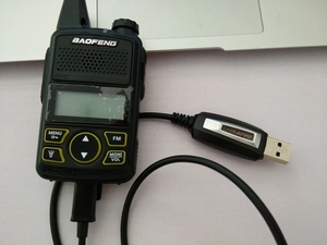 Image 3 - Baofeng T1 radio program cable for walkie talkie program cable special for T1  mini radios walkie talkie