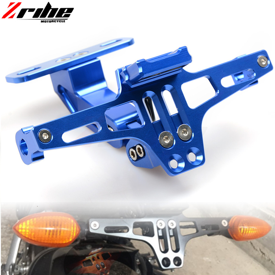 For YAMAHA MT07 FZ07 MT 07 MT09 MT 09 MT-09 R1 R6 R3 Fender Eliminator Registration Plate Bracket License Plate Holder led Light motorcycle brake fluid reservoir clutch tank oil fluid cup universal for yamaha r1 r3 r6 mt 07 mt 09 mt07 mt 07 tmax 530 ktm