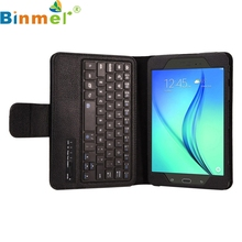 Binmer Mecall Bluetooth Keyboard Leather Case Stand For Samsung Galaxy Tab A 8.0 T350(China)