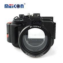 Meikon алюминиевый корпус камеры для дайвинга 100 м/325ft подводные водонепроницаемый алюминиевый корпус камеры для sony rx100 iii/rx100 м3