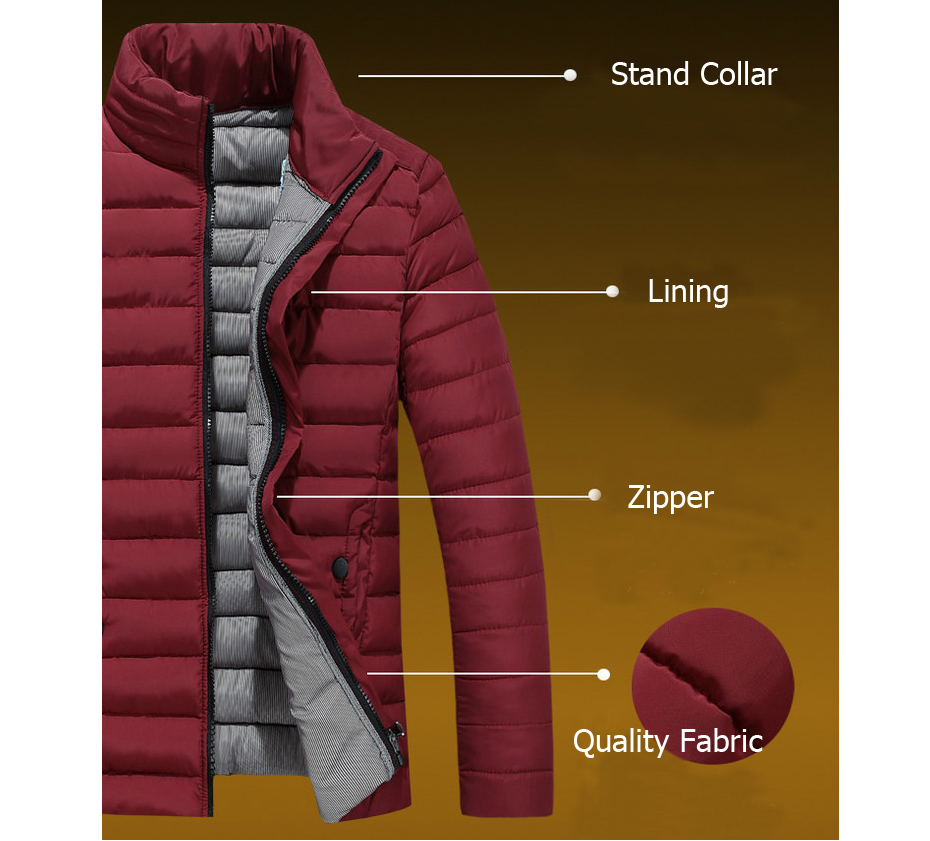 padded jacket men