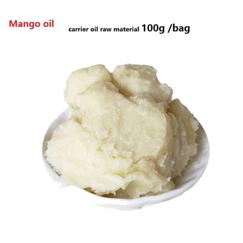 100g/ bag Mango oil, DIY base oil, handmade soap raw material carrier oil Cosmetics skin care