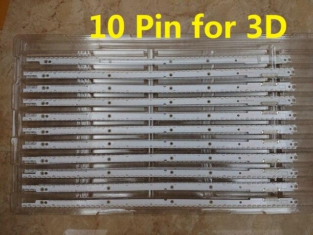 Baru 5 Set = 10 Pcs 56LED 500 Mm LED Strip untuk Samsung UA40ES5500R 2012SVS40 7032NNB RIGHT56 LEFT56 3D BN96-21712A 21711A