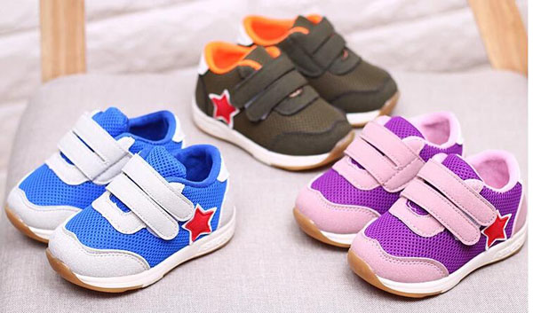 baby boys sneakers running shoes girls sport shoes purple star shoes zapato 17 new chaussure bebe sapatos SandQ baby fashion 2