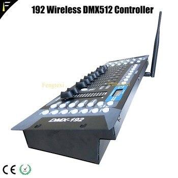 DMX512-1990 Standard Intelligente Modalità Di Luci Dj 192 Console Senza Fili Ha Condotto Il Mini Piccolo Party Night Club Luce Console
