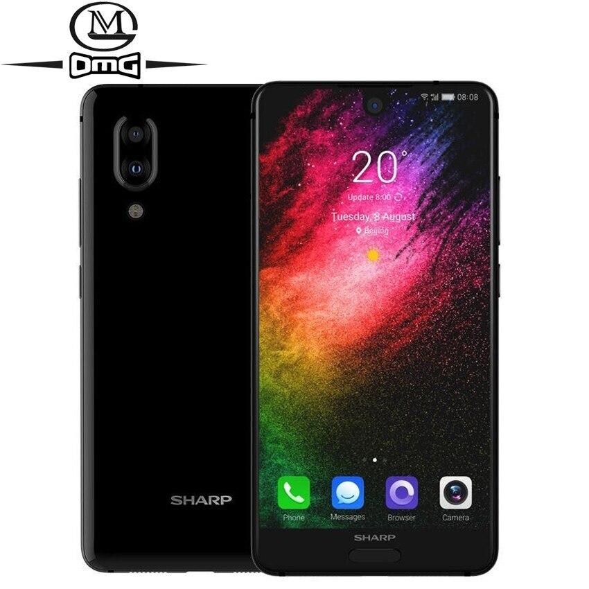 SHARP AQUOS S2 C10 4 do telefone celular Android 8.0G Smartphone 5.5 de polegada FHD Snapdragon + 630 telefones Principais Octa GB + 64 4 GB Telefone Móvel NFC